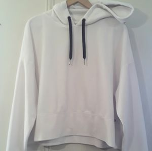 Calvin Klein Cropped Velour Performance Hoodie
